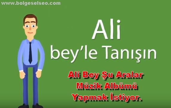 Ali Bey Seo Yapıyor